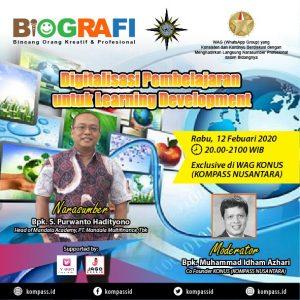 Program BIOGRAFI KOMPASS Nusantara 12 Februari 2020