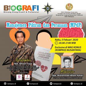 Program BIOGRAFI KOMPASS Nusantara 5 Februari 2020