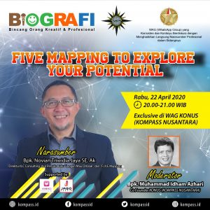 Program BIOGRAFI KOMPASS Nusantara 22 April 2020