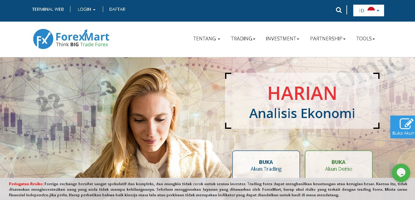 Trading Forex by ForexMart
