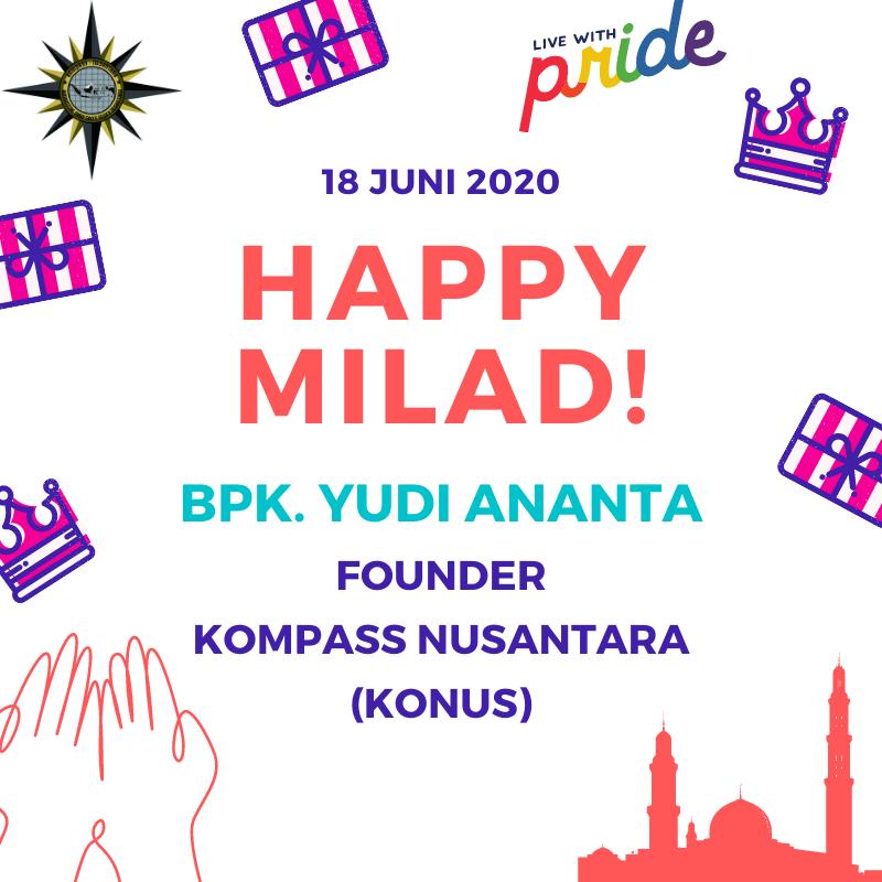 YUDI ANANTA HAPPY BIRTHDAY 2020